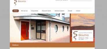 Nieuwe website online: Huisartsenpraktijk Bouma